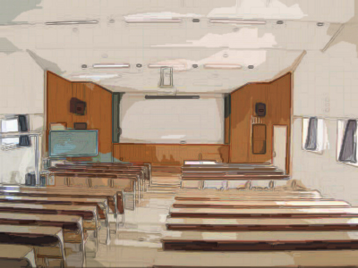 大津北高校MAP: 視聴覚室